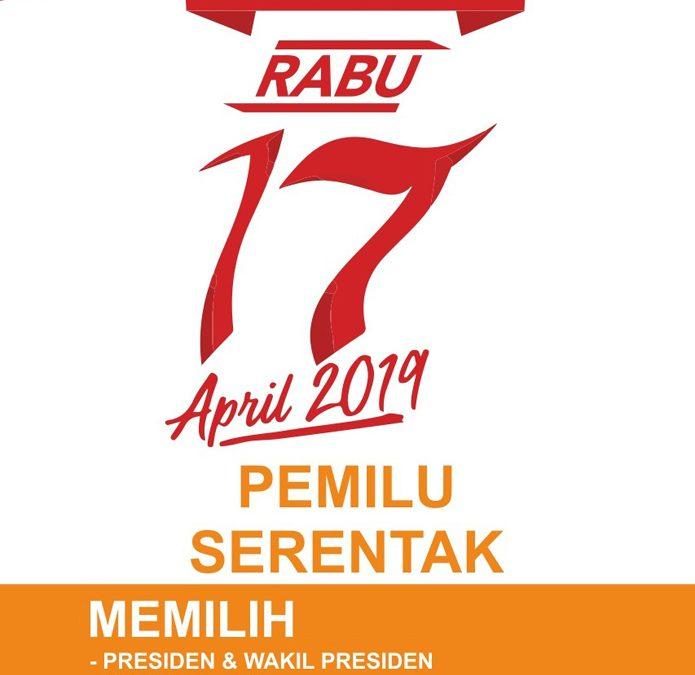 Ingat 17 April 2019 Pemilu Serentak