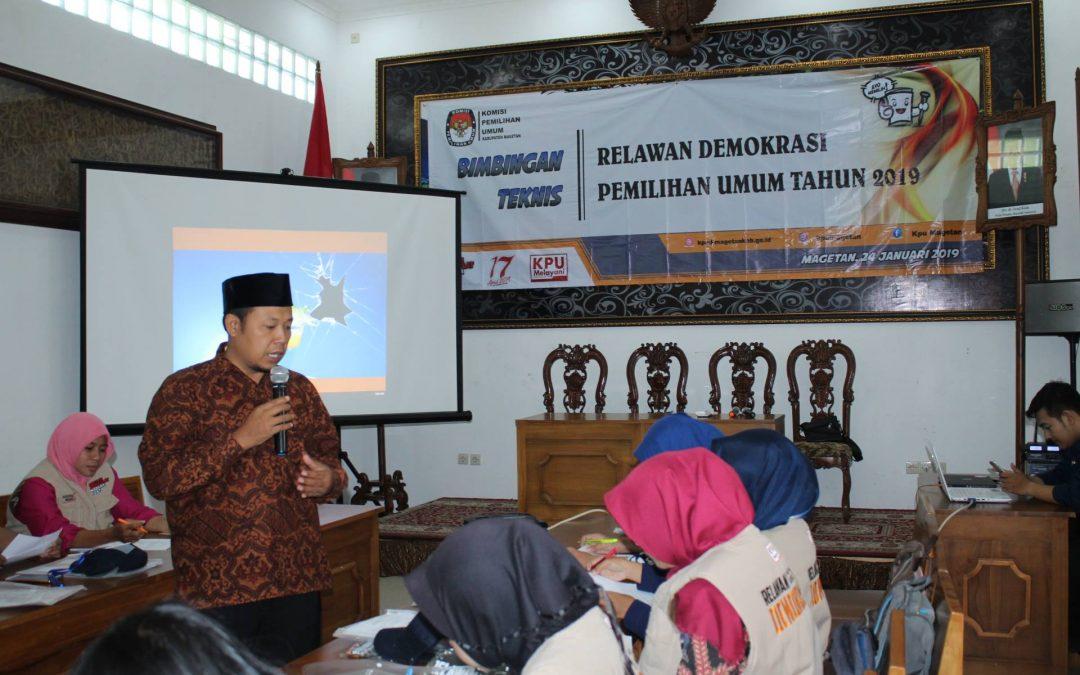 Harmadha Joglo Diserbu Relasi KPU Kabupaten Magetan