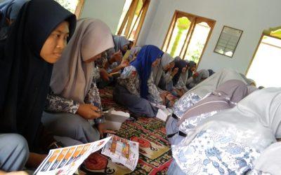 Sosialisasi Pendidikan Pemilih di SMAN 1 Karas