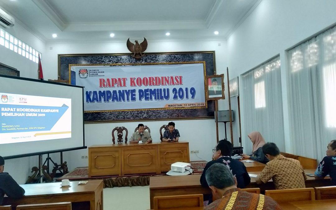 Rapat Koordinasi Kampanye Pemilu 2019