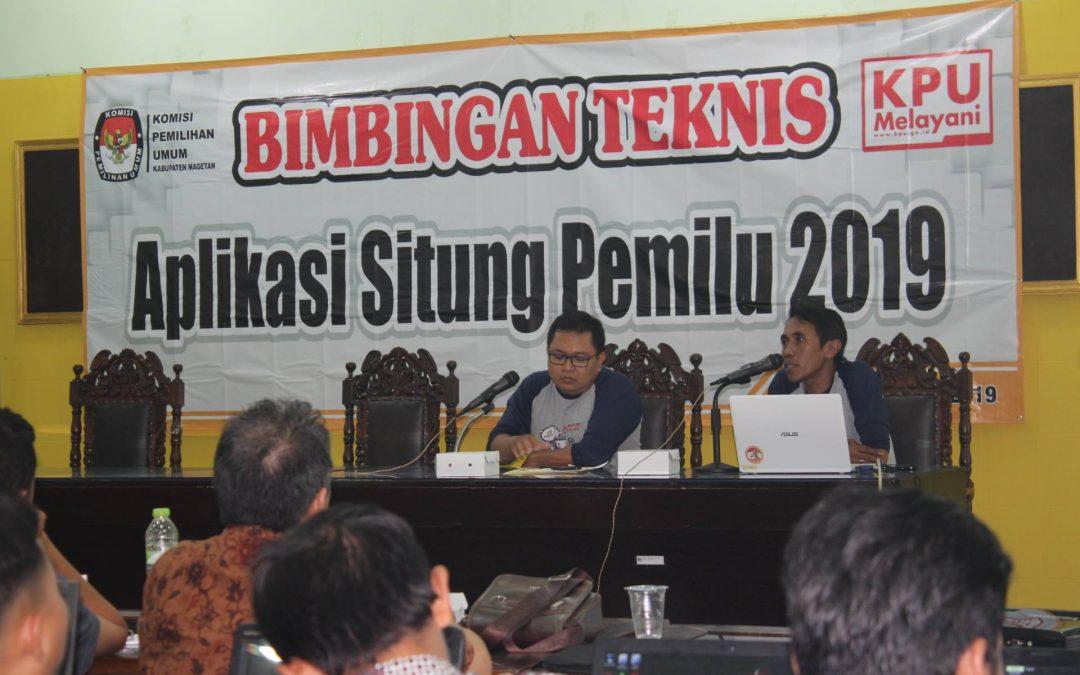 BIMTEK Aplikasi Situng Pemilu 2019