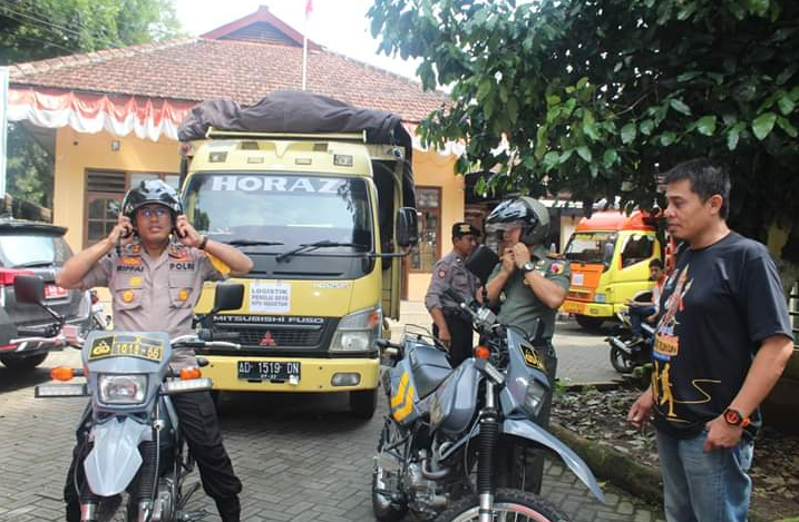 Kapolres Magetan  Memastikan Proses Pengamanan Pemilu 2019