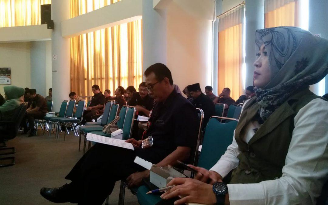 FOTO : KPU HADIRI RAPAT PARIPURNA DPRD KABUPATEN MAGETAN